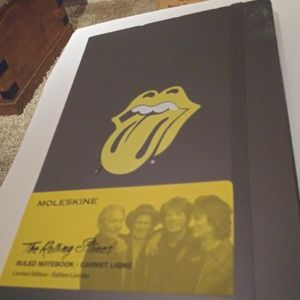 LIMITED EDITION Rolling Stones Ruled Notebook